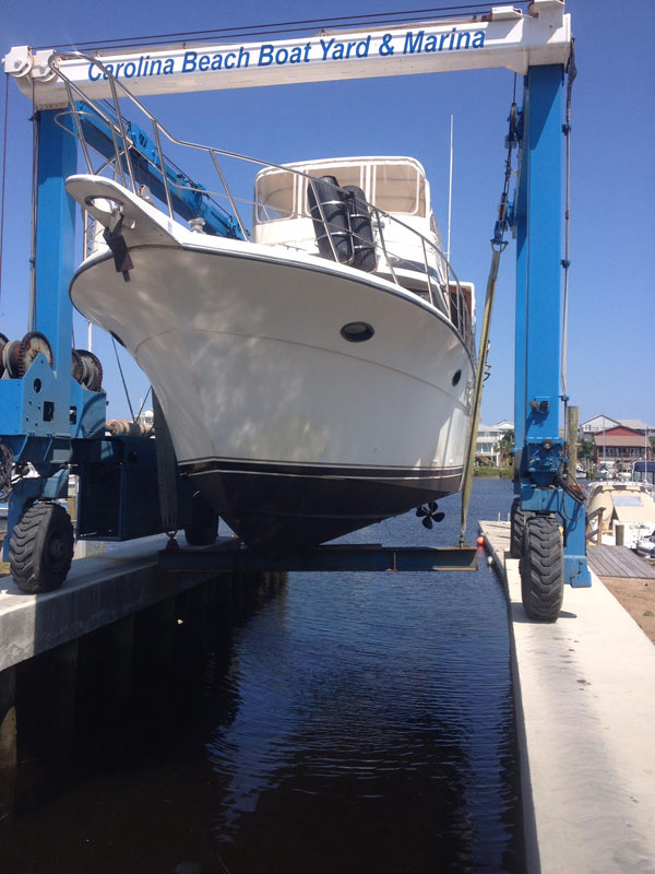 carolina beach nc boat yard and marina, boat repairs carolina beach nc