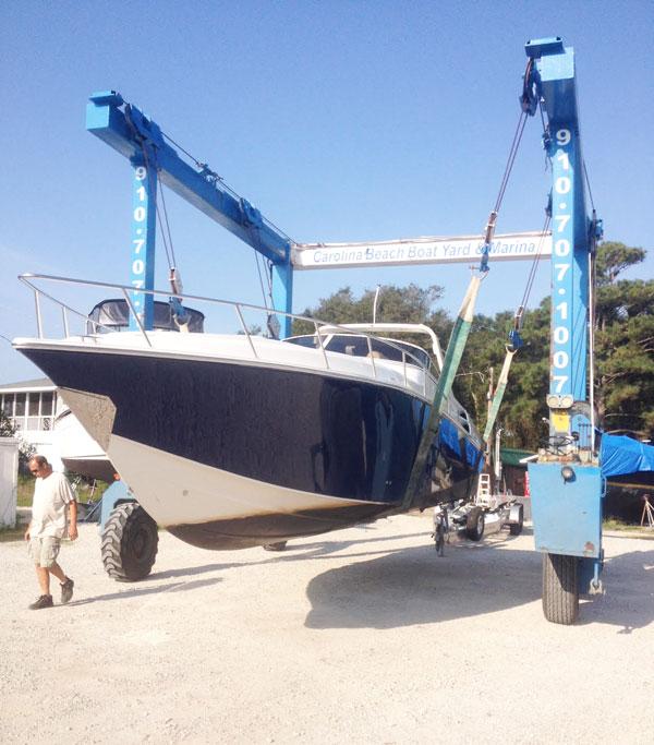 Carolina Beach Boatyard Repair Service And Maintenance